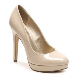 G by Guess Winna Nude patent platform pump